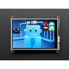 """Adafruit TFT FeatherWing - 3.5"""" 480x320 Touchscreen for Feathers (AF-3651)"""