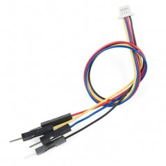 Qwiic Cable - Breadboard Jumper 4-pin  (SF-PRT-14425)  4-pin JST connector, 1mm pitch