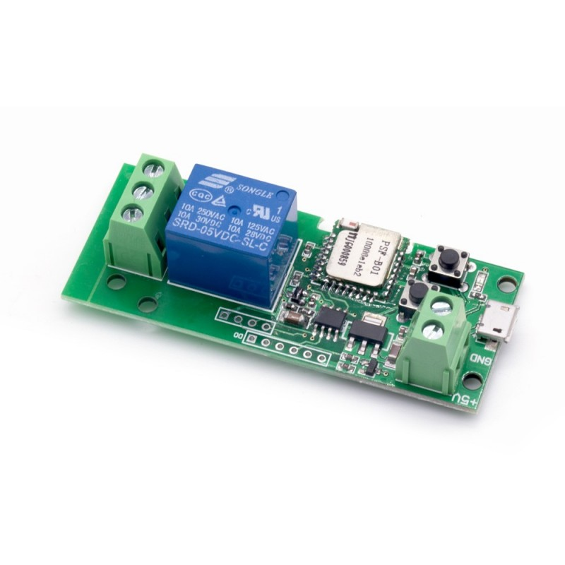 1 Channel Inching /Self-Locking WiFi Wireless Switch 5V/12V (IM160426001)