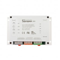 Sonoff 4CH - 4 Channel Din Rail Mounting WiFI Switch (IM160913003)