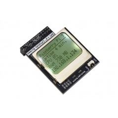 Raspberry Pi 3 Model B CPU Info LCD Screen 1.6 inch 84x48 with Backlight Switch (ER-DRA03111S)