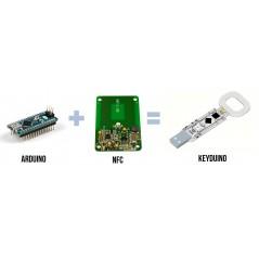 Keyduino NANO (ER-CDK07525N) Arduino with built-in NFC, NXP PN532,  ATMEGA32u4 (Leonardo bootloader)