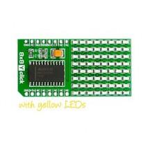8x8 Yellow click (MIKROE-1294) 8x8 Y click