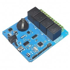 4 Channel Programmable Relay Module (NU-PRLY002)