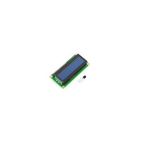 LCD 2x16 with blue BL+ DS1820 (MIKROELEKTRONIKA)