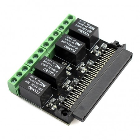 Four Channel Relay for Microbit (ER-DTS04012R)  for micro:bit BBC