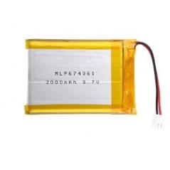 Li-Polymer Battery 3.7V 2000mAh (MIKROE-1120)