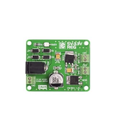 5V-3.3V Voltage Regulator (MIKROE-192) 5-3.3 VR
