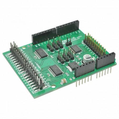 Digital and Analog IO Expander Arduino Shield (NU-ARSHGPI001)