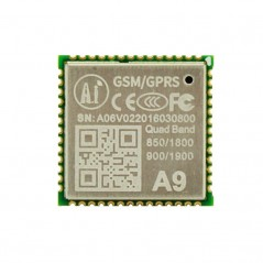 GPS + GSM A9 Pudding SMS Voice Wireless Data Transmission IOT Module (ER-AMC00565B)