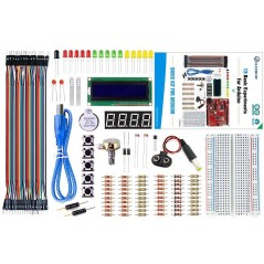 Beginner  Basic Kit for Arduino with Crowduino + Guide Book (ER-ACK02124K-CD)