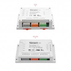 Sonoff 4CH & Sonoff 4CH R2 (IM171108005)  4-gang switches with din rail mounting