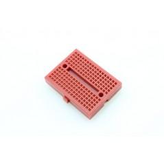 Mini Bread Board 4.5x3.5cm - Red (ER-PBB05545R) 170Point, 45×35×9mm