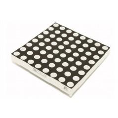 60mm Square 8x8 LED Matrix - Red (ER-DLM56060R)