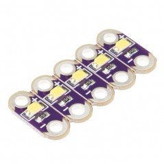 LilyPad LED White 5pcs  (SF-DEV-13902)