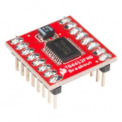 SparkFun Motor Driver - Dual TB6612FNG with Headers (SF-ROB-13845)