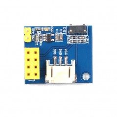 ESP8266 ESP-01S WS2812 RGB LED Module for Arduino/Raspberry Pi  (ER-RGB28100M)