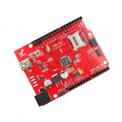 Crowduino M0- SD (ER-ACM36620M) ATSAMD21G18 32-bit extension of the Arduino UNO