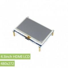 4.3inch HDMI LCD, 480×272 (WS-11865)