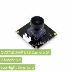 OV2710 2MP USB Camera (A), Low-light Sensitivity (WS-14121)
