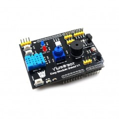 Multifunction DHT11 LM35 Temperature Humidity Easy Module Shield for Arduino UNO (ER-ARS03218S)