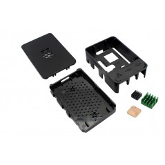 Plastic Case for Raspberry Pi 2/3 with Cooling Kit (ER-RPA01869S)