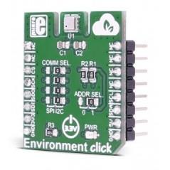 Environment click  (MIKROE-2467)  BME680 digital gas, humidity, pressure, temperature sensor