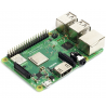 Raspberry Pi 3 Model B+ BCM2837B0 SoC, IoT, PoE, 64bit 1.4GHz quad core, 1GB RAM, dual-band 802.11 b/g/n/ac 300Mbit/s, BT4.2