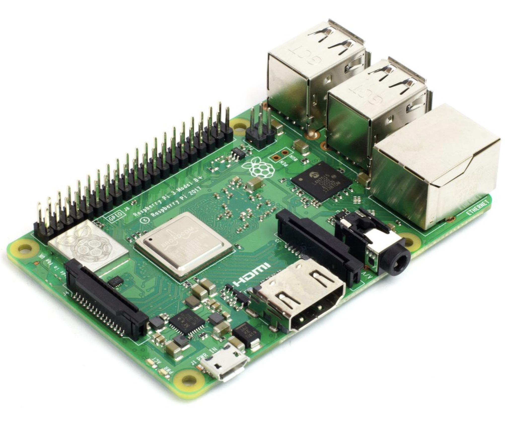Raspberry Pi 3 Model B Bcm2837b0 Soc Iot Poe 64bit 14ghz Quad Hardware Circuit Of Pcbased Data Logger Is Designed Around Analog Core 1gb Ram Dual Band 80211 G N Ac 300mbit S Bt42 Rlx Components Sro