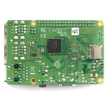 Raspberry Pi 3 Model B+ BCM2837B0 1GB RAM, 802.11 b/g/n/ac, BT4.2