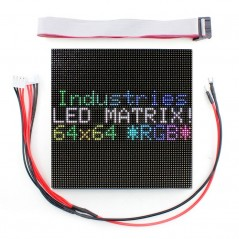 64x64 RGB LED Matrix-2.5mm Pitch-1-32 Scan (ER-DLE23049P)