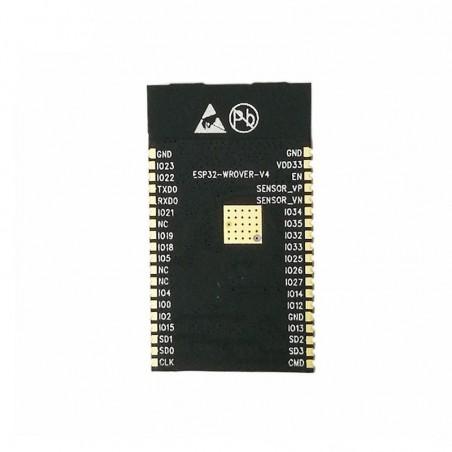 ESP32- WROVER-I 4MB SPI Flash + 4MB PSRAM WiFi-BT-BLE MCU Module (ER-DTE01011I)