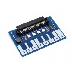 Mini Piano Module for micro:bit BBC, Touch Keys to Play Music (WS-14205)