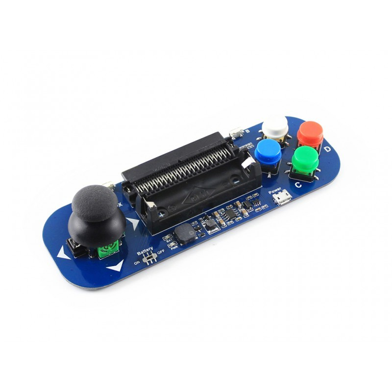 Gamepad module for micro:bit, Joystick and Buttons (WS-14593) Waveshare