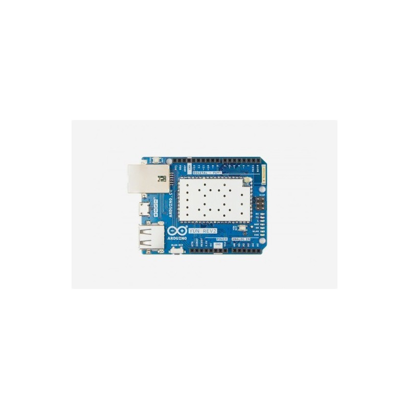 Arduino yÚn rev abx linux powered board with the