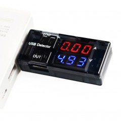 USB-POWER-METER (Olimex) USB TYPE A POWER METER WITH DISPLAY VOLTAGE CURRENT