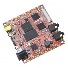 A33-OLinuXino-4GB (Olimex)  4GB, QUAD CORE CORTEX-A7 1.2GHZ LINUX SINGLE BOARD COMPUTER