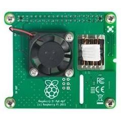 Power over Ethernet PoE HAT for Raspberry Pi 3 Model B+ (RPI3-MODBP-POE)