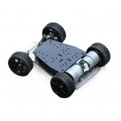 Smart Car Encoder Chassis Front wheel- Steering Gear Steering Dual Motor Drive (ER-SER85080C)