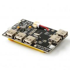 Raspberry Pi Supply & USB HUB (ER-RPA06018H) power charging for all Raspberry Pi