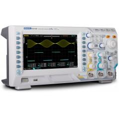 DS2102E (RIGOL) 2x100MHz, 1GSa/s per channel, 28Mpts, 50000 wfms/s