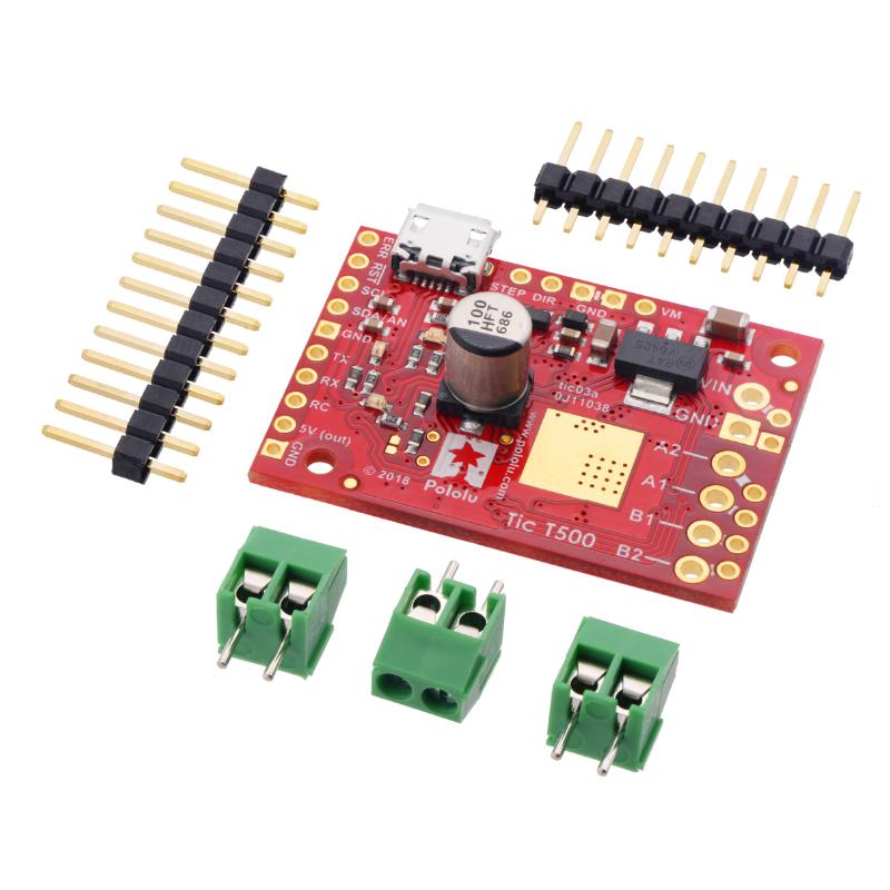 POLOLU-3135 Tic T500 USB Multi-Interface Stepper Motor Controller