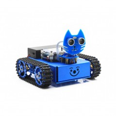 KitiBot, Starter Robot, Graphical Programming, Tracked Version (WS-14263) KitiBot-MG-T (EN)