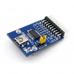 FT245 USB FIFO Board mini (WS-4654) USB to parallel FIFO interface with USB mini-AB