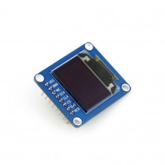 0.95inch RGB OLED (B) (WS-10514) SPI interface, straight/vertical pinheader