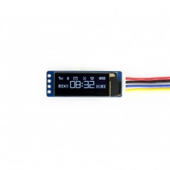 128x32, General 0.91inch OLED display Module (WS-14657)  I2C interface