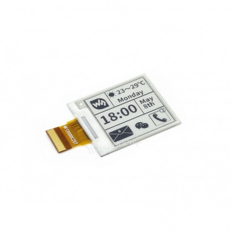 E-Ink display 200x200, 1.54inch raw panel (WS-12561) SPI interface, without PCB