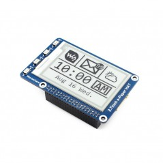 E-Ink display 264x176, 2.7inch e-Paper HAT for Raspberry Pi (WS-13354)
