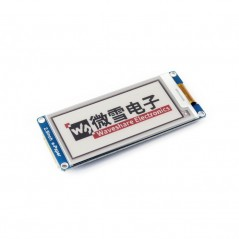 E-Ink display 296x128, e-Paper 2.9inch module, three-color (WS-13339)