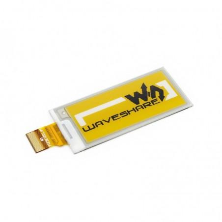 E-Ink Display panel 212x104, 2.13inch  raw e-Paper yellow/black/white three-color (WS-14186)